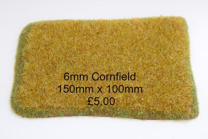 6mm Cornfield 150mm x 100mm corn 4mm high £5.00